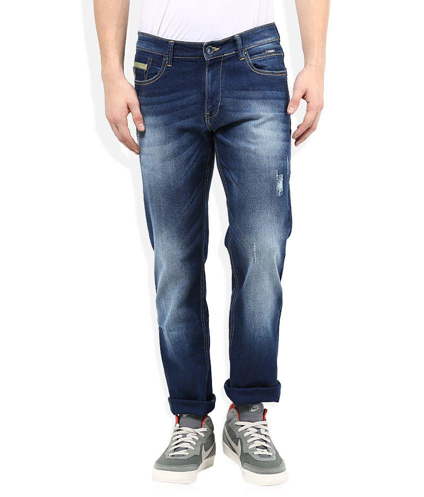 Monte Carlo Blue Regular Fit Jeans
