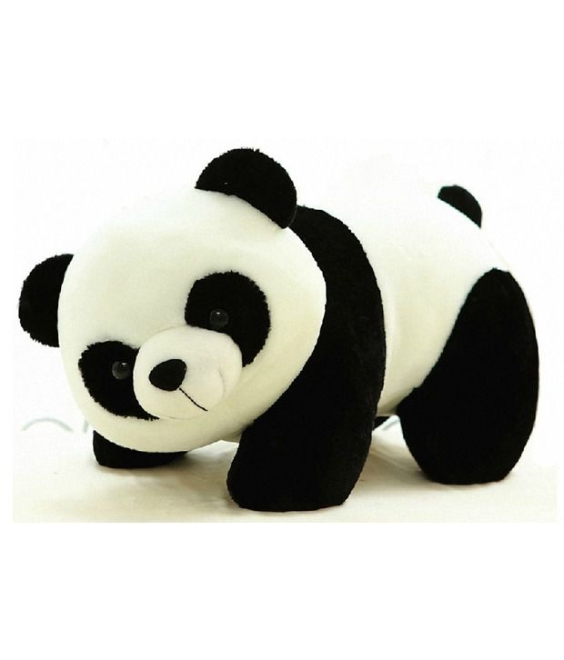 Tickles White Fibre Panda