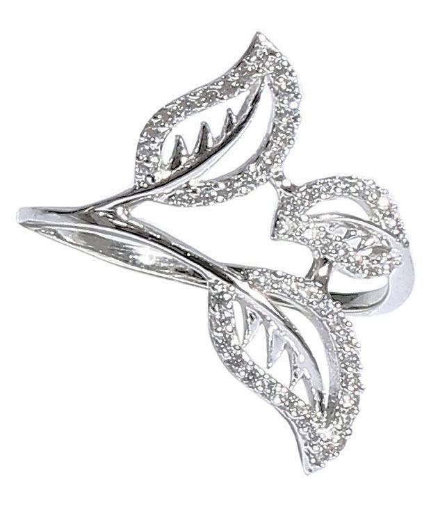 Carat Diam 92.5 Sterling Silver Ring