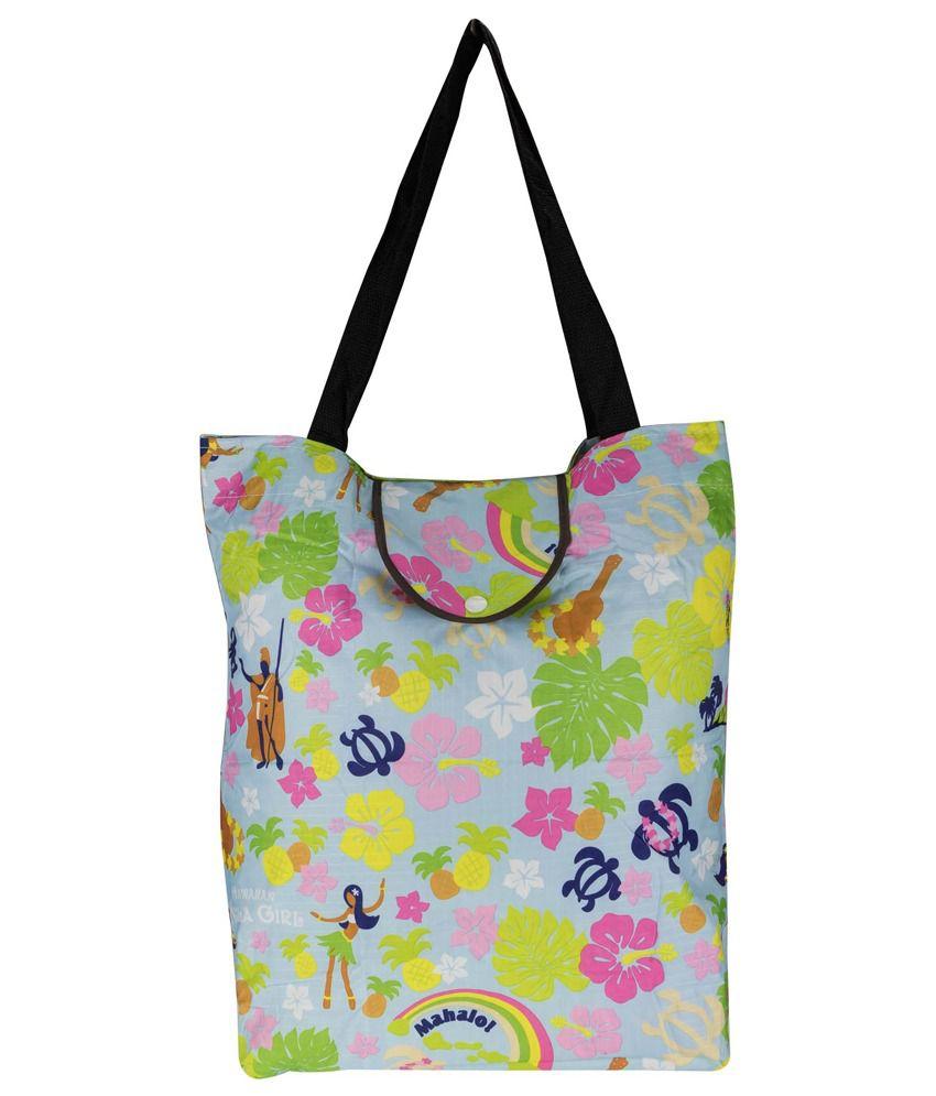 Genious Multicolor Shopping Bag For Women
