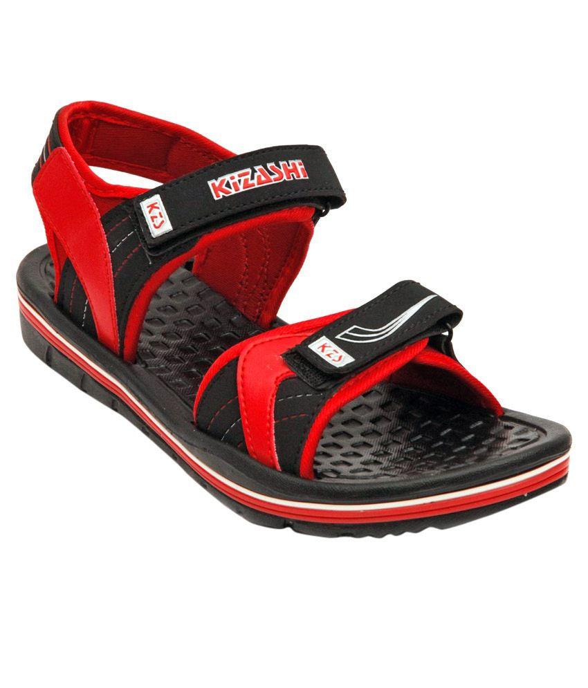 5c8edffa82b5 NEXA Red Floater Sandals Price in India