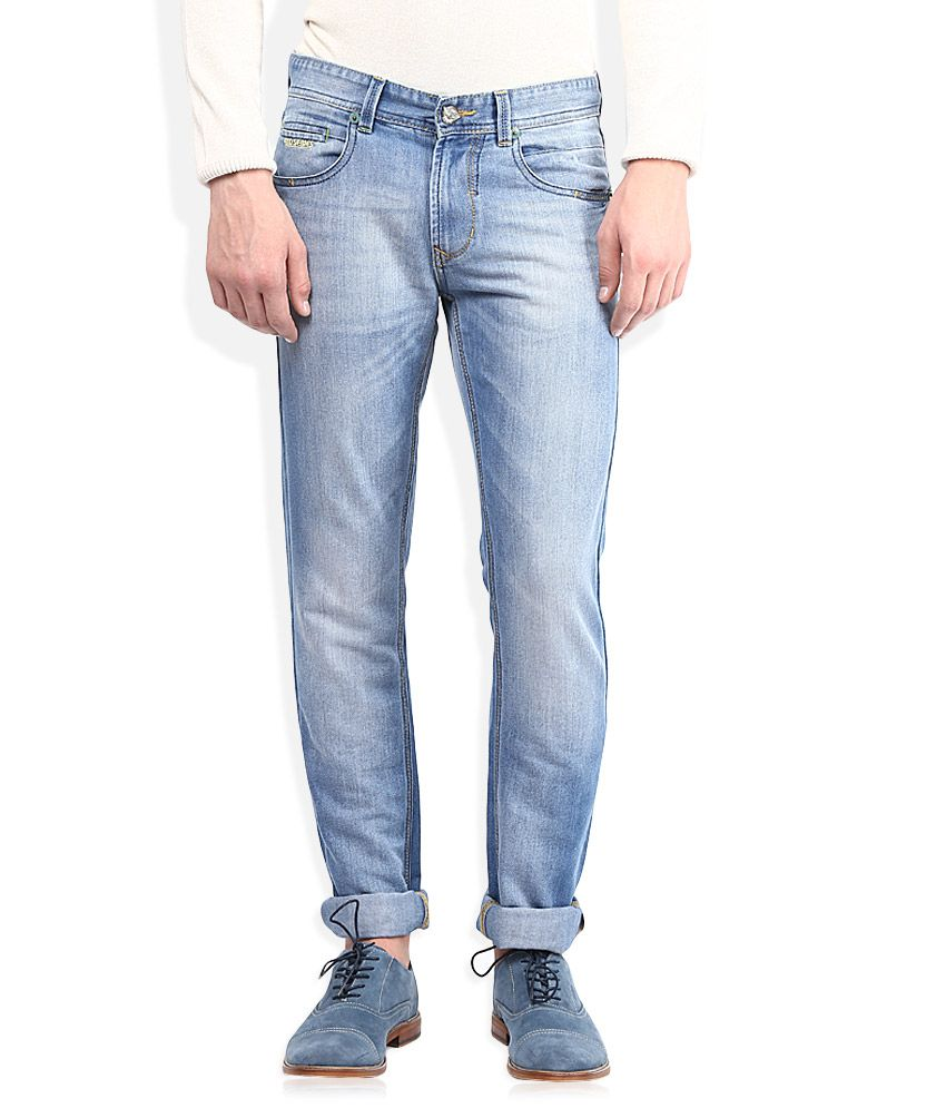 Numero Uno Blue Skinny Fit Jeans