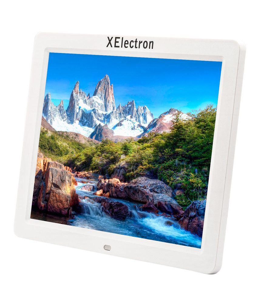 XElectron LED 12 inch Digital Photo Frame