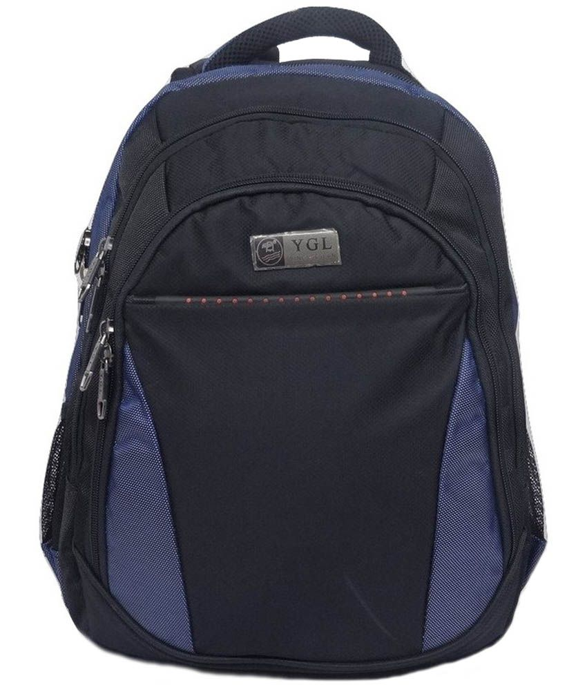 Easybags Black Polyester Laptop Bag