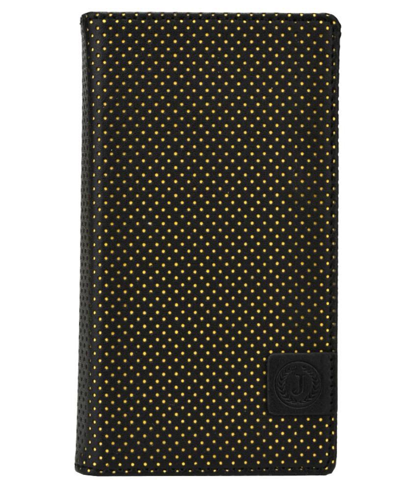 Jo Jo Flip Cover For Samsung I9192 Galaxy S4 mini-Black