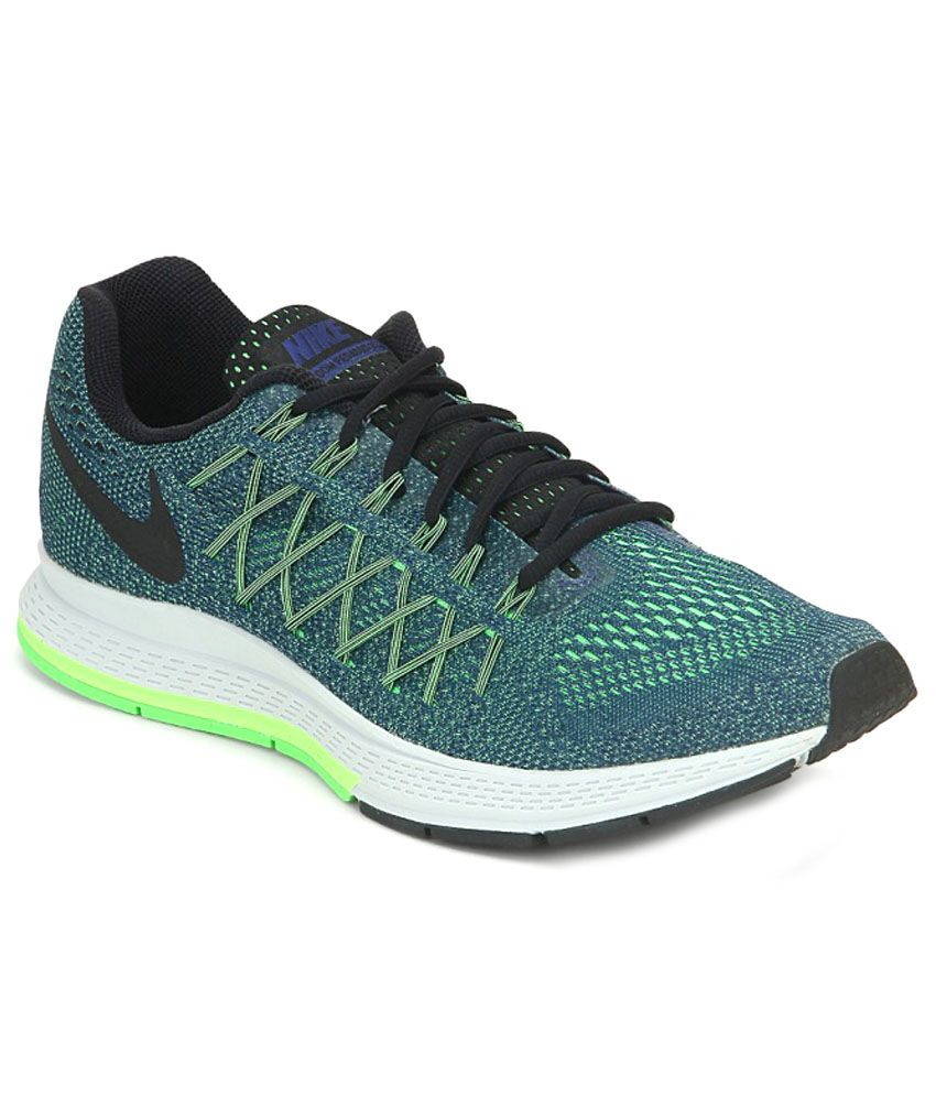 new style 9a221 cb458 Nike Air Zoom Pegasus 32 Blue Sports Shoes