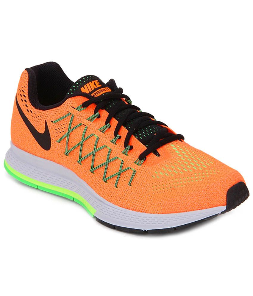37c70e0933c3 Nike Air Zoom Pegasus 32 Orange Sports Shoes - Buy Nike Air Zoom Pegasus 32  Orange Sports Shoes Online at Best Prices in India on Snapdeal