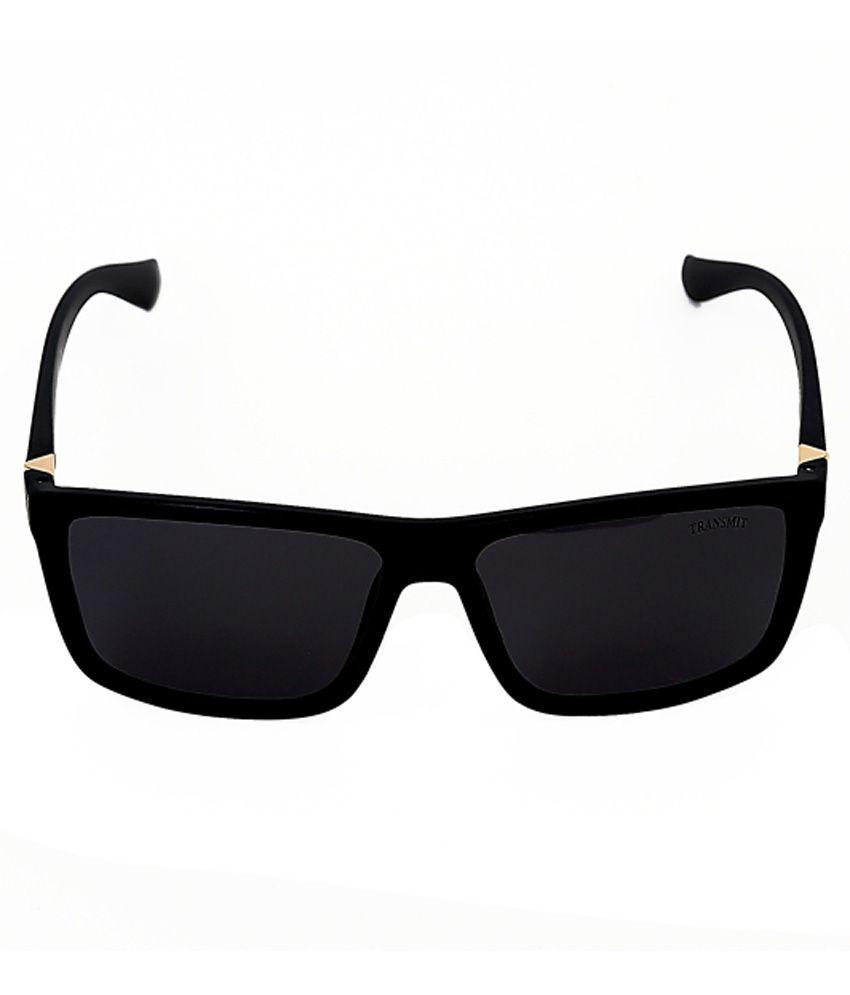 mens wayfarer sunglasses vx9p  Transmit Black Medium Men Wayfarer Sunglasses Transmit Black Medium Men  Wayfarer Sunglasses