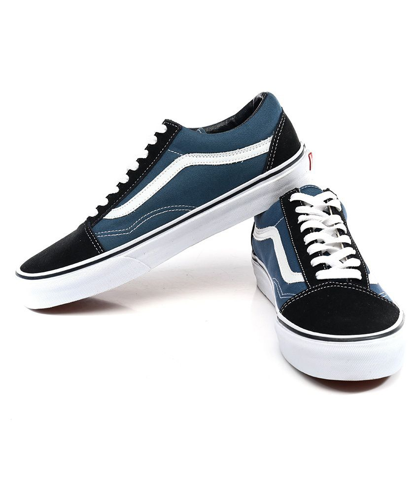 blue vans chaussures india