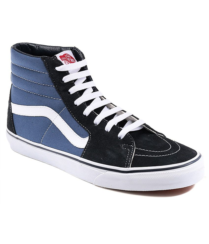 9a00ce3bbf88 Vans Sk8 Hi Black Casual Shoes Price in India- Buy Vans Sk8 Hi Black Casual  Shoes Online at Snapdeal