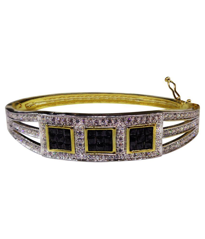 Anant Trading Golden Cz Bracelet