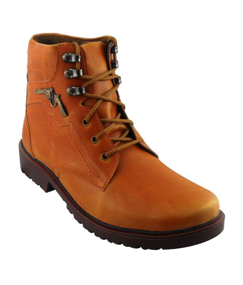 Elvace Tan Boots