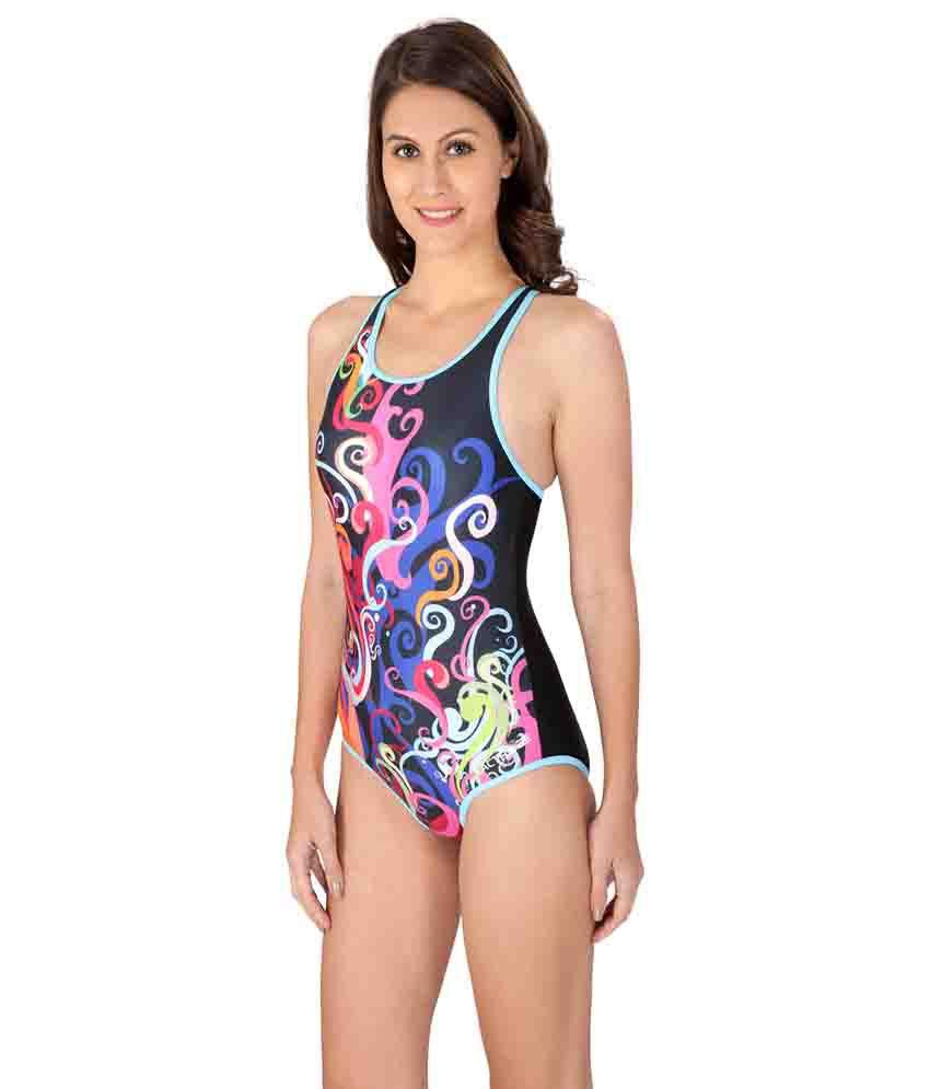 Lactra Multicolor Nylon Female Swimwear
