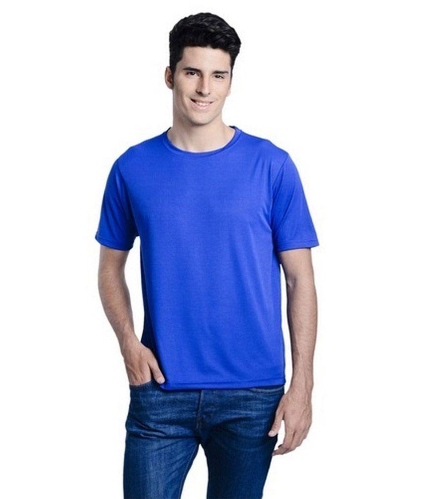 Rewatex Blue Half Basics Polo T-shirts Set Of 2