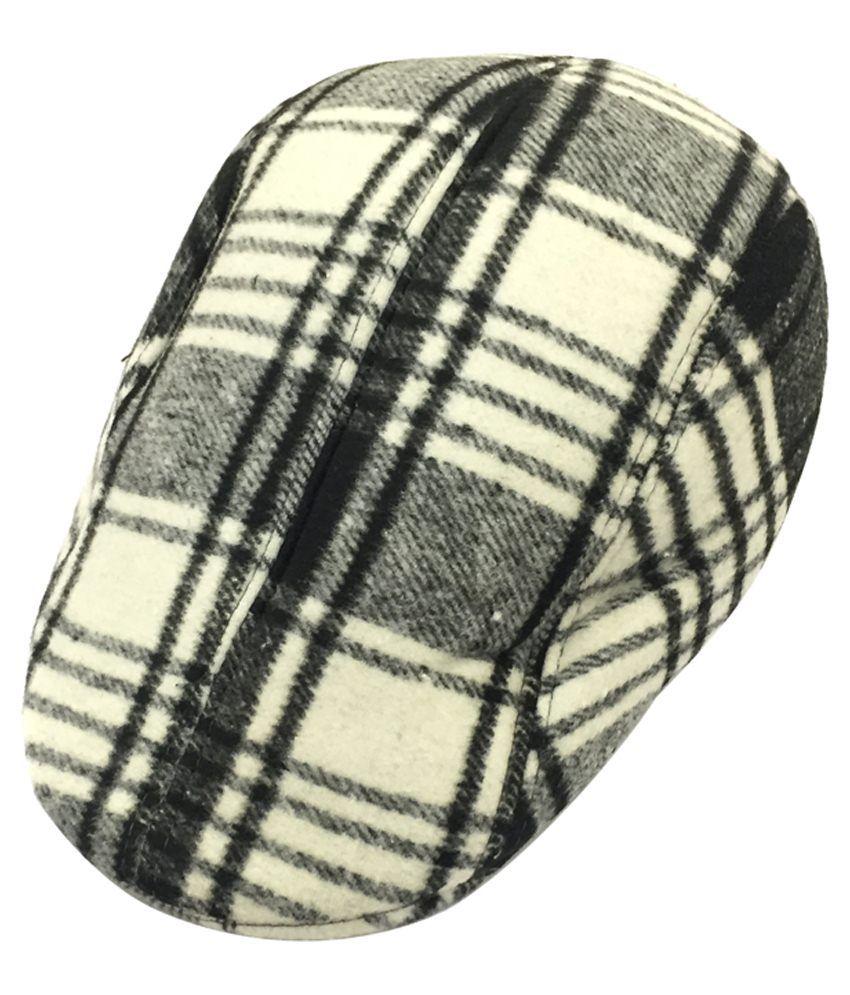Sir Michele Multicolour Woollen Golf Cap