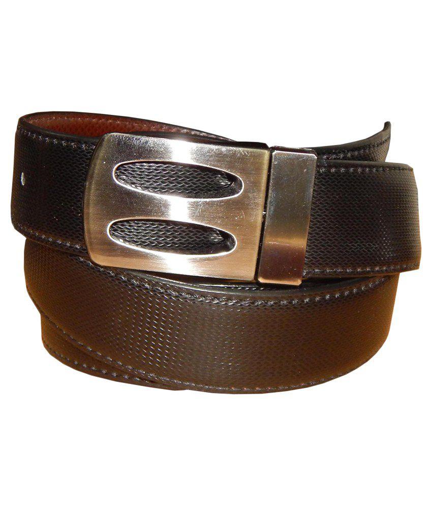 Ansari Brown Leather Pin Buckle Belt