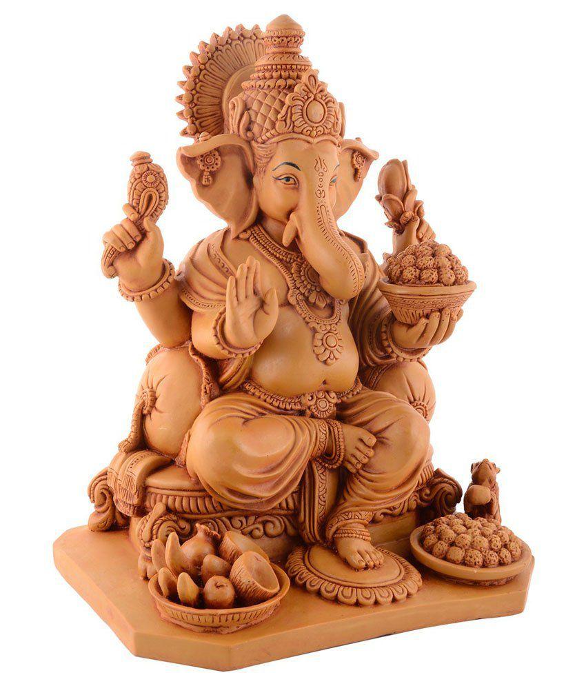 Sheela's Arts & Crafts Ganesh Idol