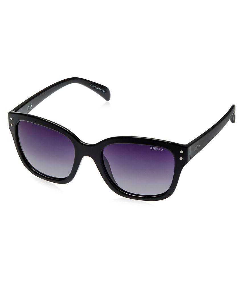 Idee Black Cat Eye Sunglasses
