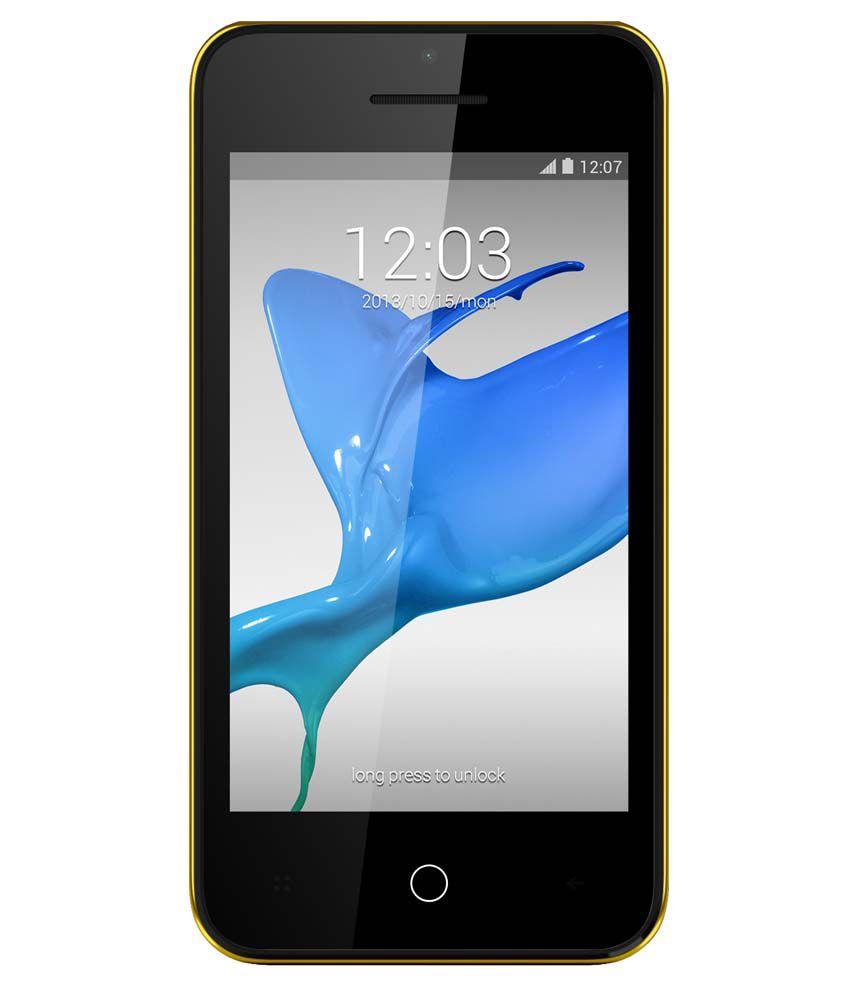 Intex Aqua Y2 Power 4 GB Blue
