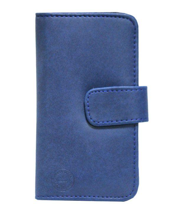 Jo Jo Flip Cover for Sony Xperia C6602 - Blue