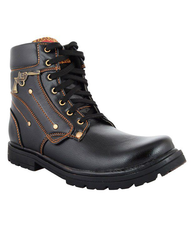 Zohran Black Boots