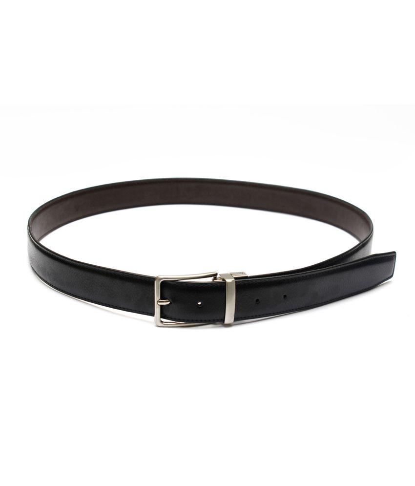 Krazoo Black Formal Belt For Men