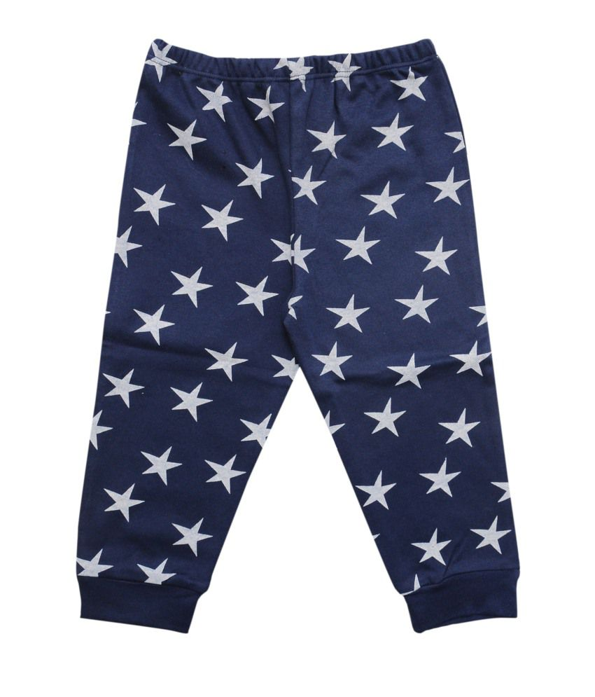 Most Wanted Navy Blue Cotton Capris