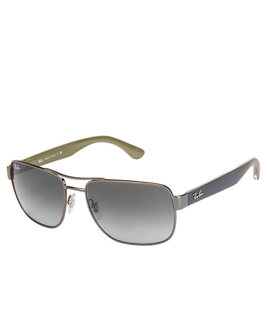 31ea4f5c2e Ray-Ban Rb3530 004 8g Gray Rectangle Sunglass - Buy Ray-Ban Rb3530 ...