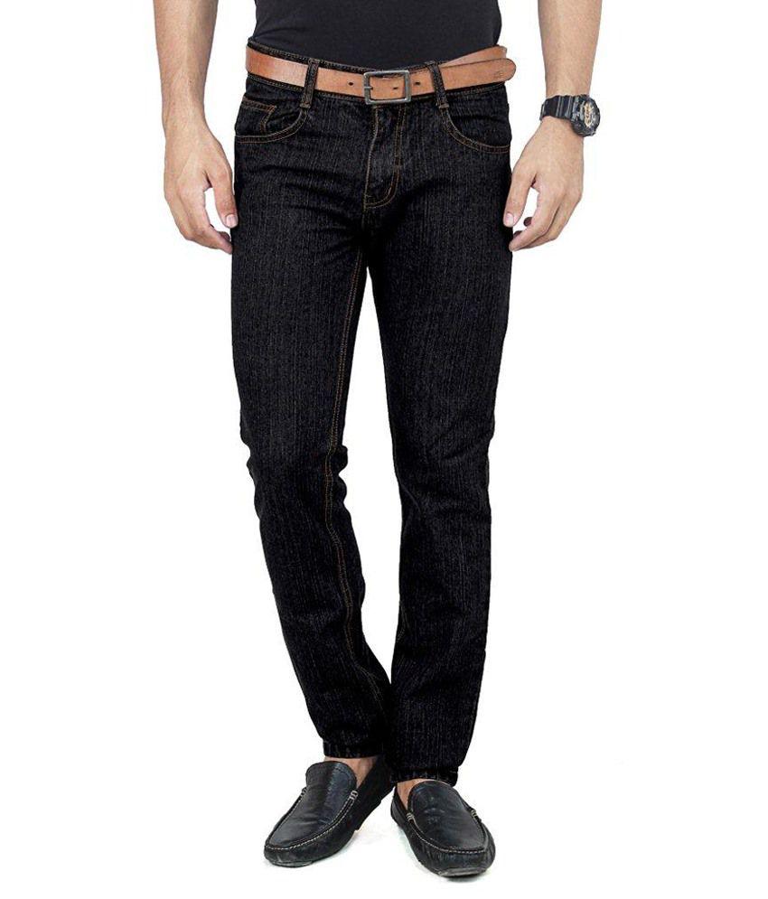 Uber Urban Black Regular Fit Jeans