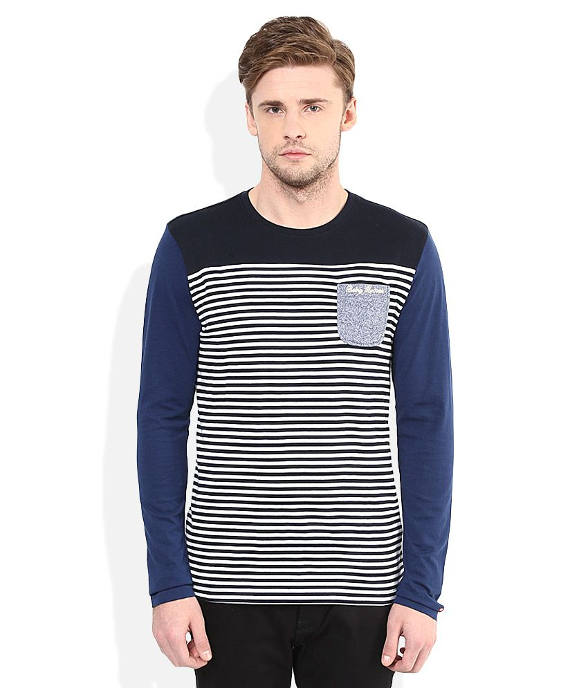 Being Human Multi Colour Round Neck T-Shirt