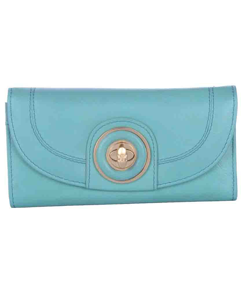 RI2K Leather Green Regular Wallet