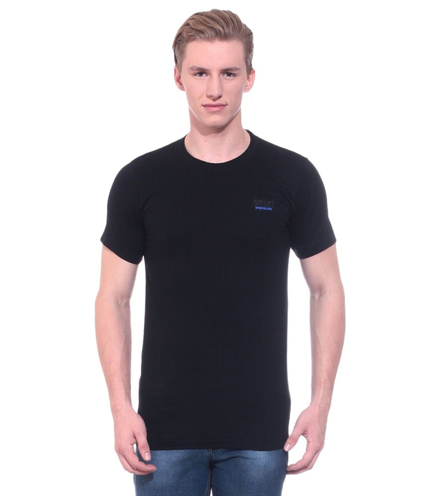 Fairly Black Cotton T-Shirt