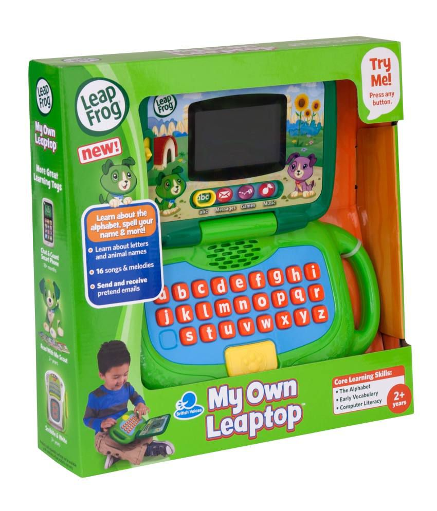 Leap Frog My Own Leaptop Green