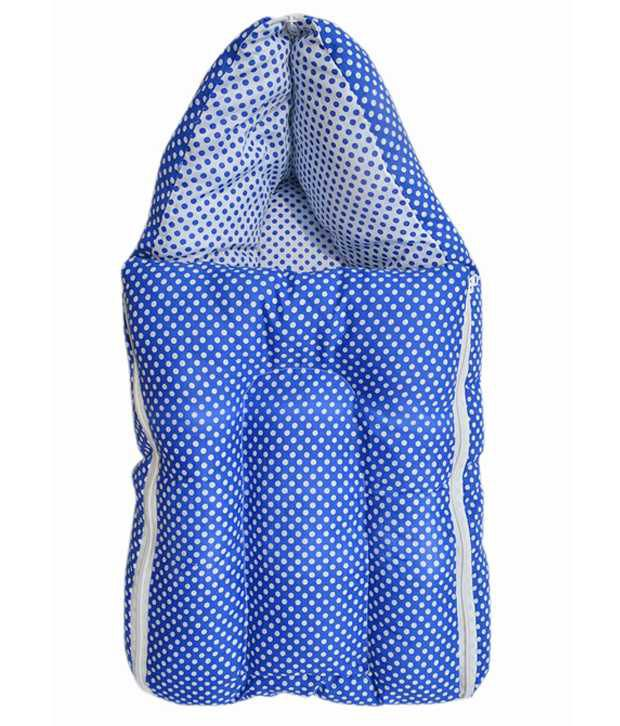 Younique Blue Poly Cotton Sleeping Bags ( 60 cm × 55 cm)