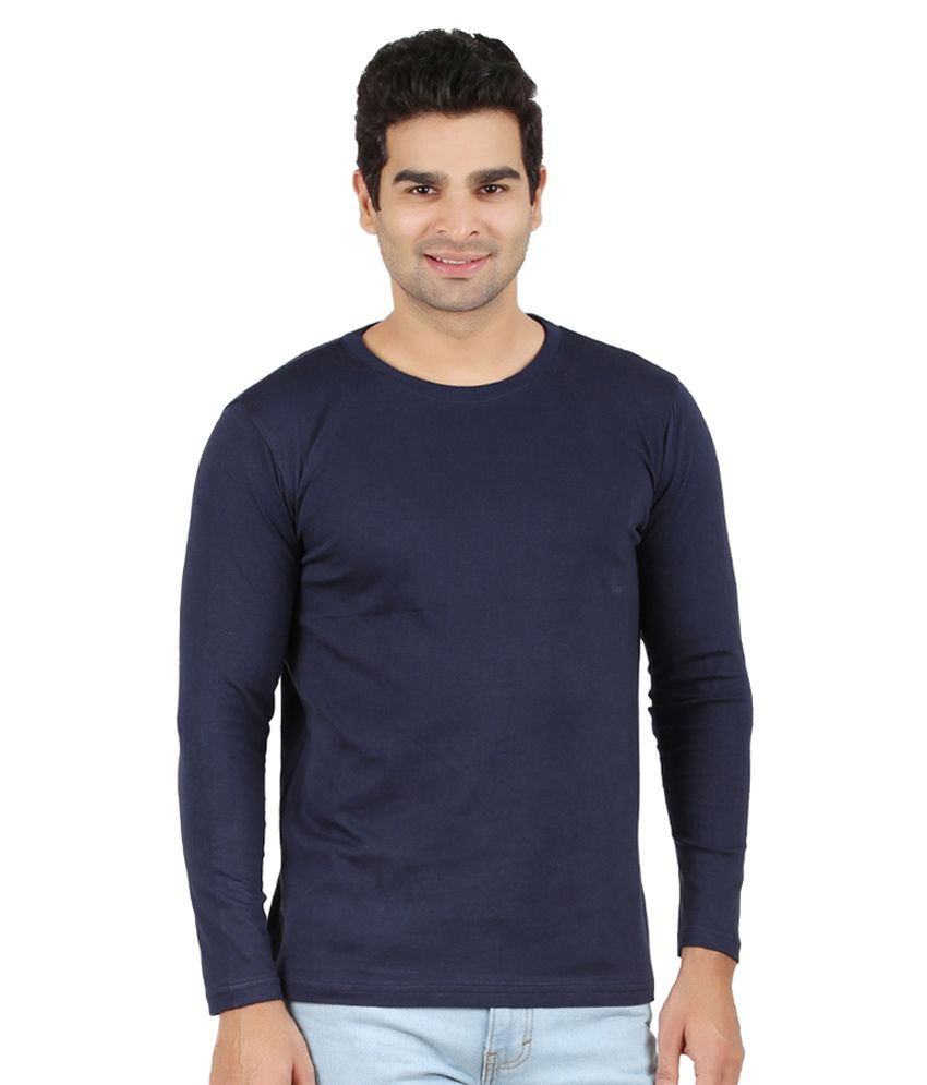Ap'pulse Blue Cotton T-shirt