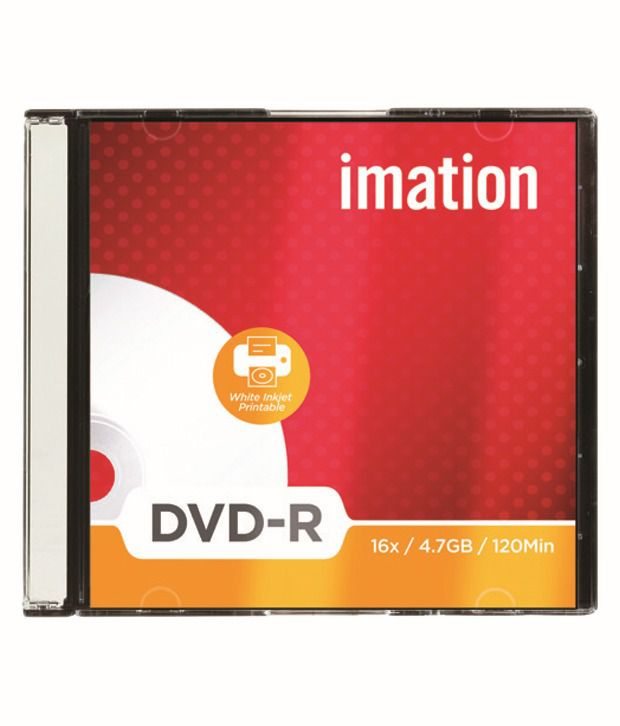 Imation 16x / 4.68 Gb Blank Dvd-r - Pack Of 10 Pcs