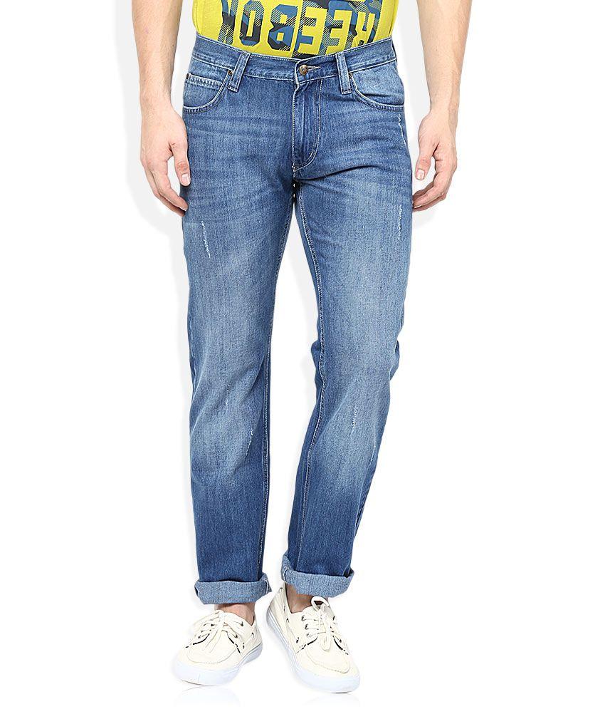 lee blue slim fit jeans buy lee blue slim fit jeans. Black Bedroom Furniture Sets. Home Design Ideas