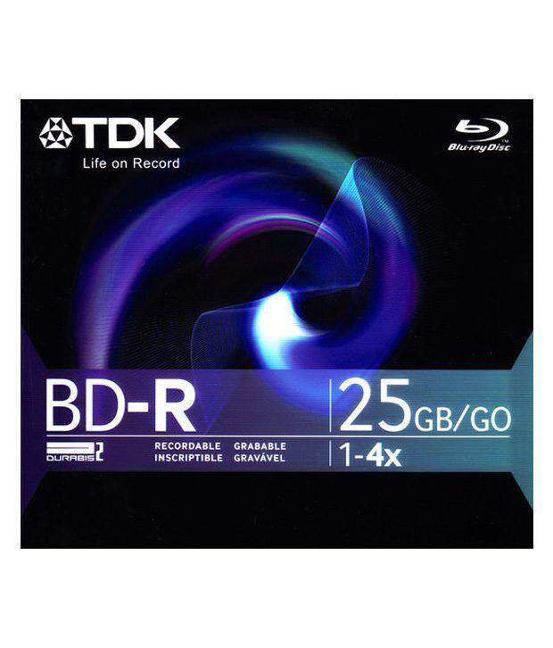 Tdk Blu-ray Disc 25gb Blank
