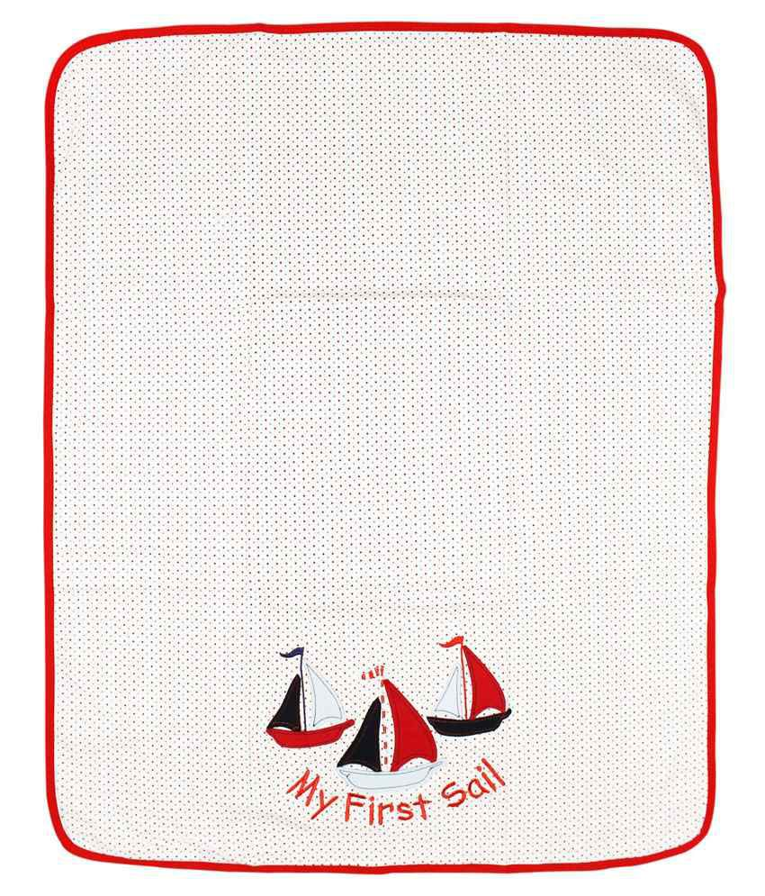 Wonderkids My First Sail Print Baby Wrapper