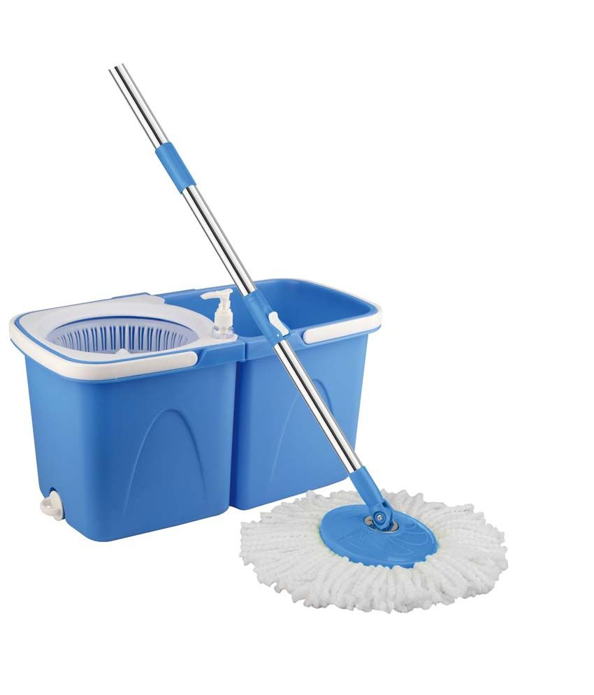 Blessed Single Bucket Mop Blue