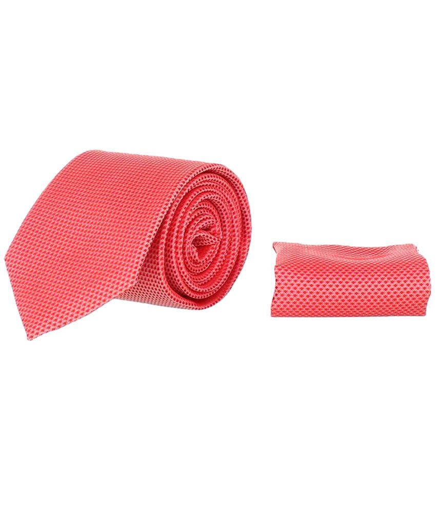 Corpwed Orange Micro Fiber Broad Tie