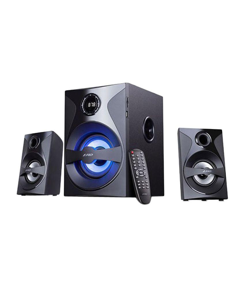 F&D F380X 2 1 Bluetooth Speaker - Black