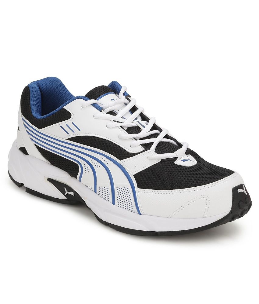 7f0b07f6ec2 Puma Pluto Dp White And Black Sports Shoes - Buy Puma Pluto Dp White And  Black Sports Shoes Online at Best Prices in India on Snapdeal