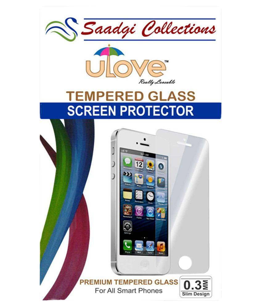 Intex Aqua Speed - Tempered Glass Screen Guard by Saadgi Collections