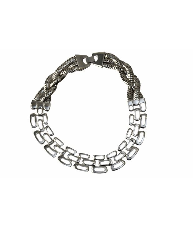 Shamoda Silver Designer Necklace