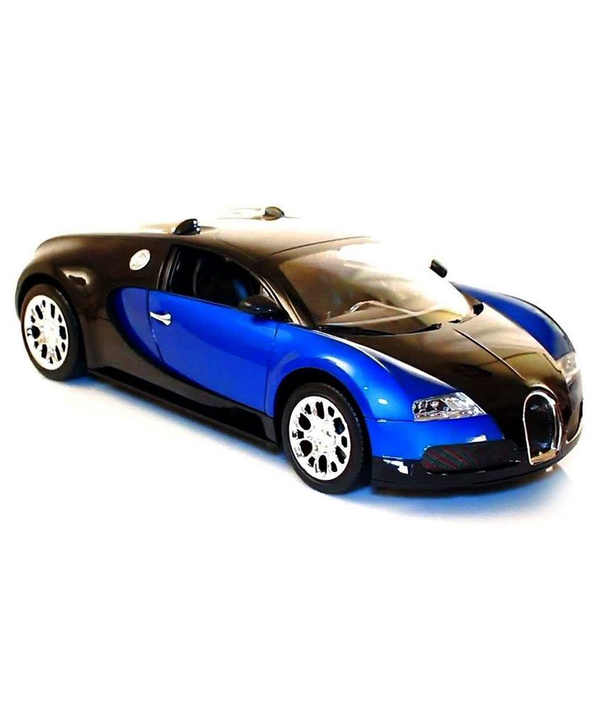 shopcros remote control rechargeable 1 18 bugatti veyron blue rh snapdeal com
