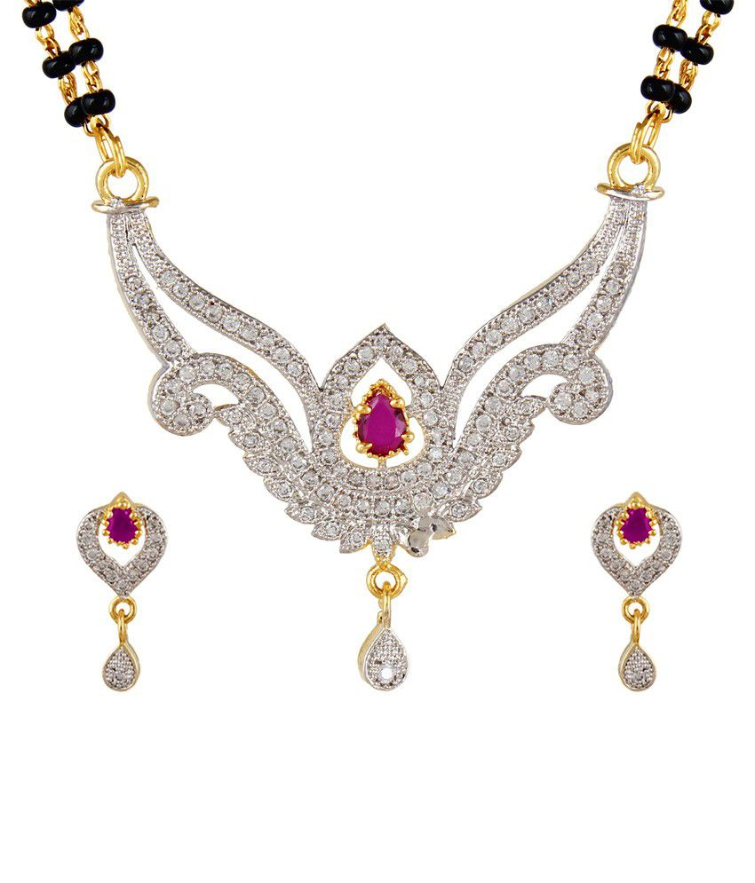 Dee Gee Golden Brass Mangalsutra Set