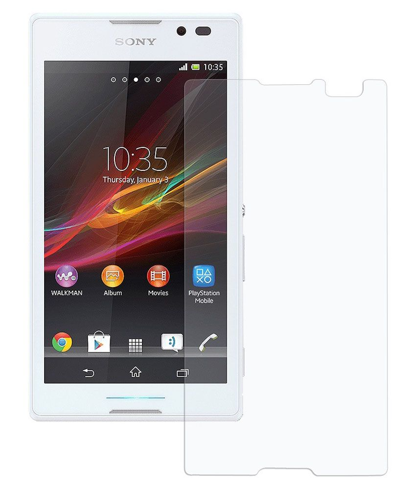 Sony Xperia C3 Tempered Glass Screen Guard by Vraga