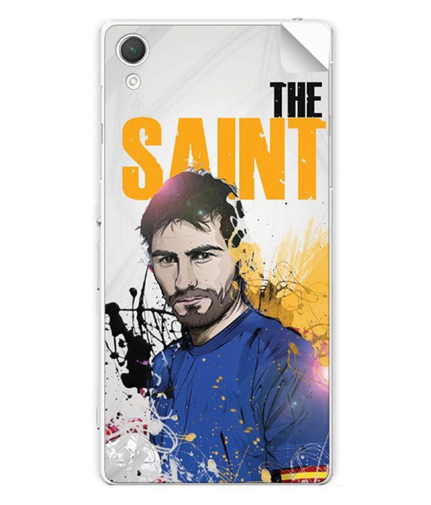 ezyPRNT Skin Sticker for Sony Xperia Z2 Iker Casillas Football Player 2