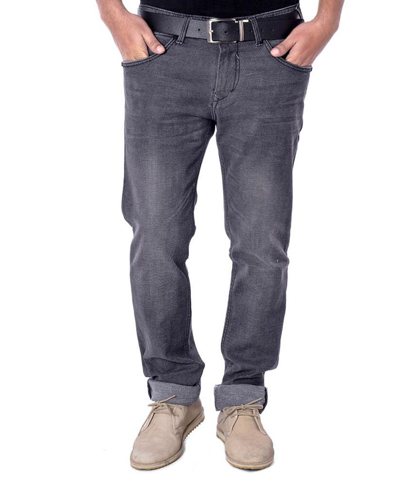 Cpj Overseas Blue Regular Fit Jeans